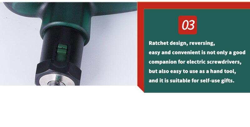 Ratchet design
