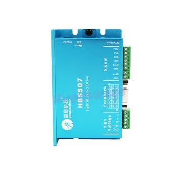 HBS507 Hybrid servo drive NEMA 23 3 phase closed loop motor 50VDC input step driver