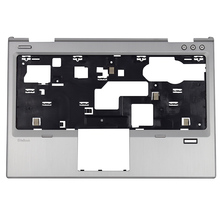 Original New For HP EliteBook 2570P Laptop Palmrest Upper Case 685407-001 685406-001Silver Palmrest Top Cover