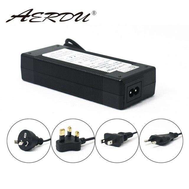Aerdu 3 s 12.6 v 5a carregador adaptador de alimentação 12 v bateria de lítio bateria li-ion batterites ue/eua/au/uk ac dc plug conversor