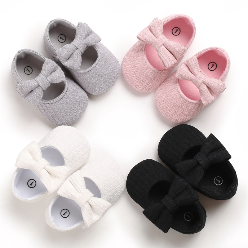 Spring 0-18M Baby Girls Retro Toddlers Prewalkers Cotton Shoes Infant Soft Bottom First Walkers New Arrival
