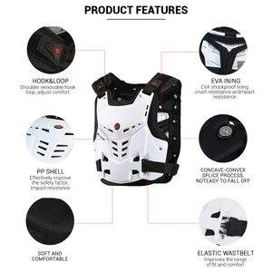 Image 3 - Scoyco Motorfiets Armor Vest Motorfiets Bescherming Motor Borst Terug Protector Armor Motocross Racing Vest Beschermende Kleding