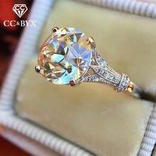 Cc anéis para a moda feminina estilo de arte redonda zircônia cúbica flash deal anel nupcial casamento noivado jóias transporte da gota cc2331