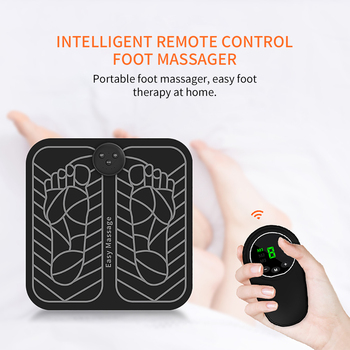 Usb Chargeable Body Massager Electric Muscle Stimulation Pressure Therapy Foot Massager Vibration Fitness Exercise Tools kiki newgain mini electric body massager vibration massager infrared heating 3 x aaa battries or usb dc 5v e28 sm001