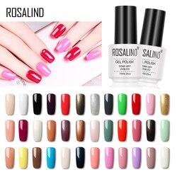 Rosalind uña Gel polaco híbrido barniz Base para uñas Gel 7ML UV Semi permanente capa Base de Arte de uñas de Gel polaco de todos para manicura