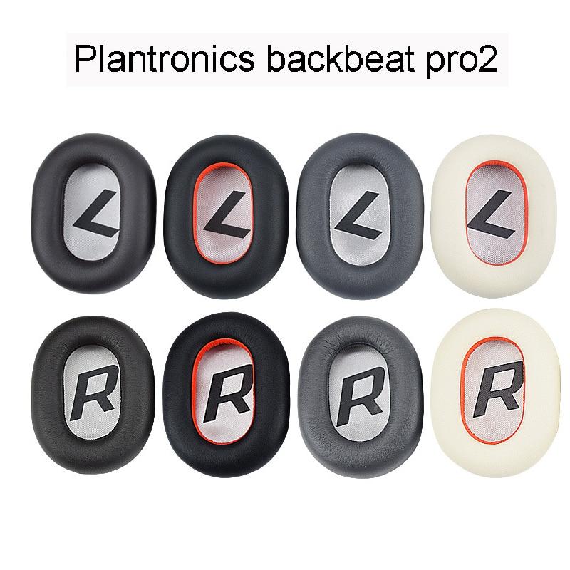 Almofadas para Plantronics Backbeat Pro 2 Pro2 Sem Fio Noise Cancelling Headphone Substituição Ear pads Almofadas
