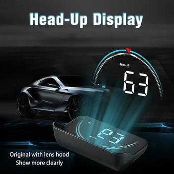 M8 Car HUD Head-up Display OBD2 II Overspeed Warning System Speed Projector Voltage Alarm Car accessories Car styling Dropshipp image