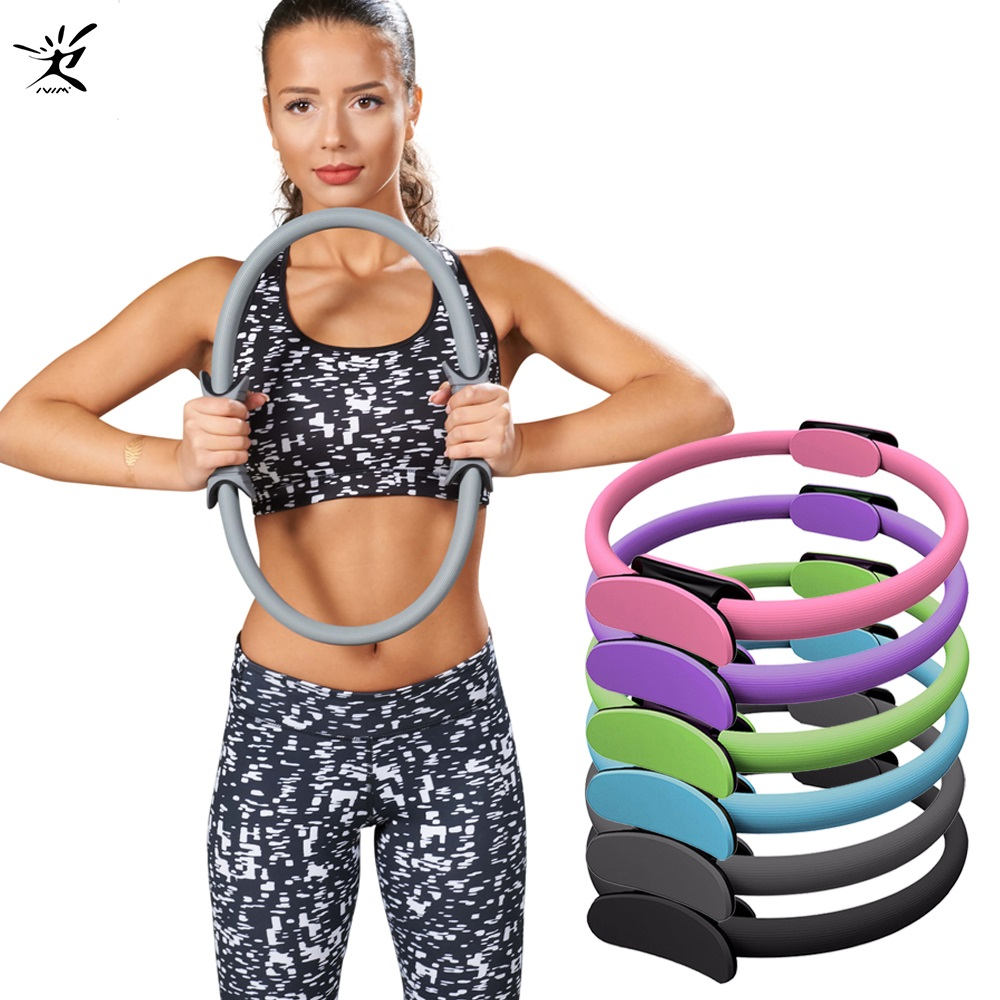 Seeknfind Yoga  Circle For Yoga Switch Yoga-wheel Yoga Ring Pelgrip Exercise Ring Home Training Gym Fitness Pilates