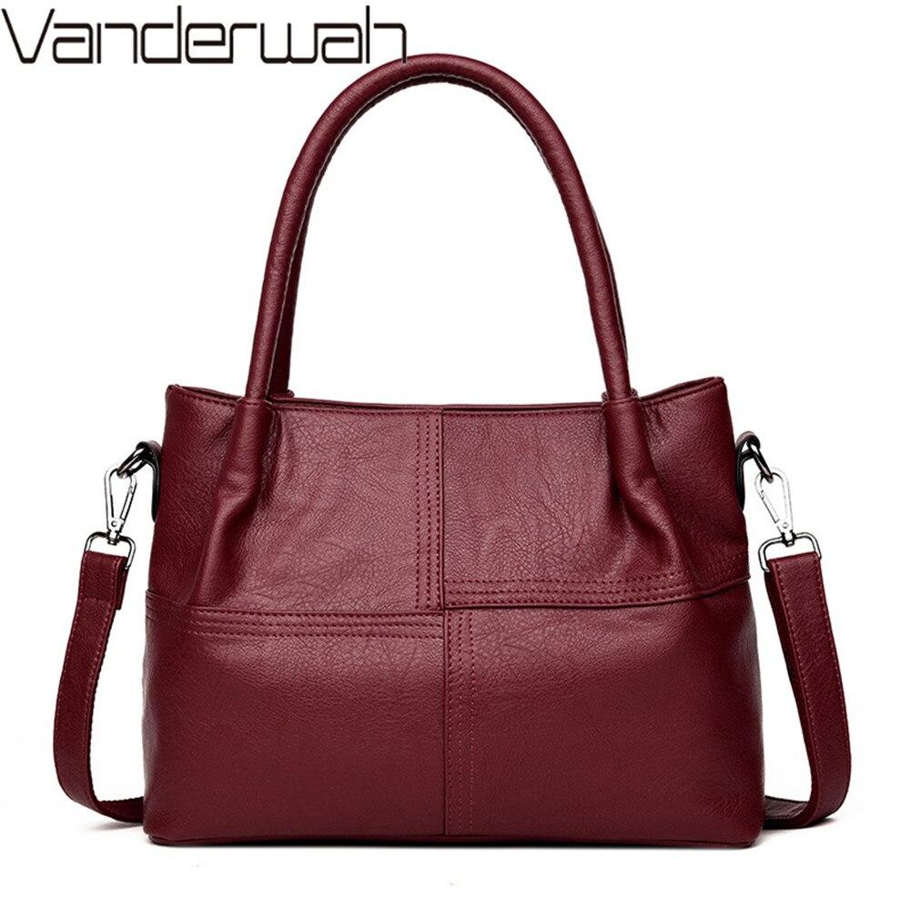 Women Leather Handbags Women Messenger Bags Designer Crossbody Bag Women Tote Shoulder Bag Top-handle Bags For girls sac a main