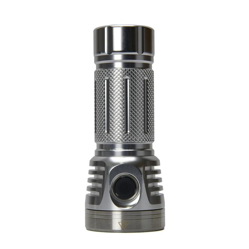 Astrolux MF01 Mini 7 * SST20 6100lm EDC фонарик + 26650 5000 мАч батарея для кемпинга охотничий светодиодный фонарь Портативный - 2