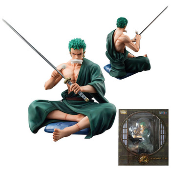 13CM One piece Roronoa Zoro Action Figure PVC Collection Model toys for christmas gift 1