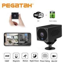 Mini wifi câmera completa hd 1080p sem fio visão noturna filmadora gravador de vídeo monitor remoto de segurança em casa micro câmera