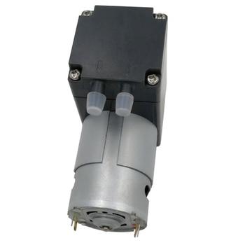 80Kpa Mini pompa próżniowa DC 12V mały próżniowy pompa ssąca pompa membranowa mikro-pompa próżniowa 12L / Min