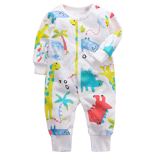 Baby Romper Newborn baby boys girls clothes 3 6 9 12 18 24 months cotton infant jumpsuit toddler kids clothing 3