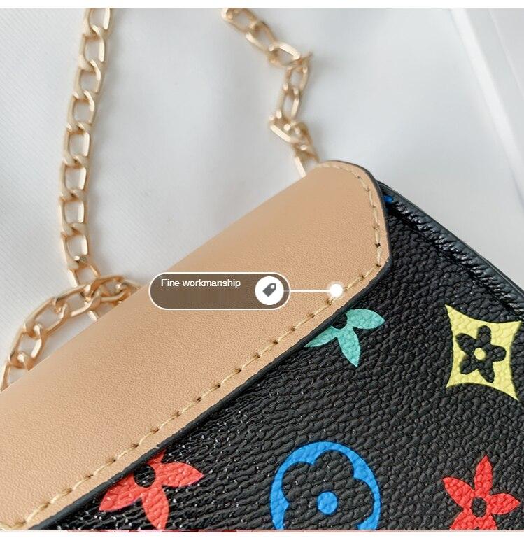 H9b0c913e47e648d1bb717291722d39bbV Bolsa disney moda menina bolsa de ombro bonito moeda bolsa nova mickey bonito menina decorativa saco do mensageiro senhoras luxo carteira