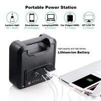 Portable Power Station AC Power Bank 220V 110V 12V USB DC Output for Home Emergency Camping Pure Sine Wave 300W 54000mAh