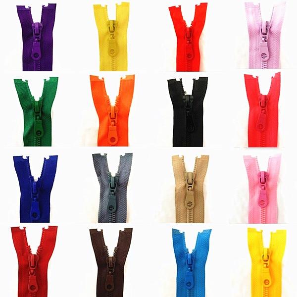 5шт, 5# 10-24inches съемный застежка-молния смолаы открытие автоматического экологического замок пластичная застежка-молния для пошива костюма