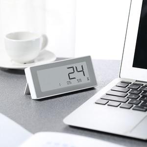 Image 2 - Xiaomi MiaoMiaoCe E קישור דיו LCD מסך דיגיטלי שעון מד לחות דיוק גבוה מדחום טמפרטורת לחות חיישן