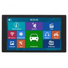 цена на 9in HD Capacitive Touch Screen Portable GPS Navigator Audio Video Player FM Bluetooth AVIN Navitel South America Map 256MB+8G QQ