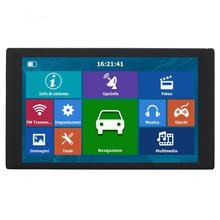 9in HD pantalla táctil capacitiva portátil navegador GPS reproductor de Audio y vídeo FM Bluetooth AVIN Navitel América del Sur mapa 256MB + 8G QQ