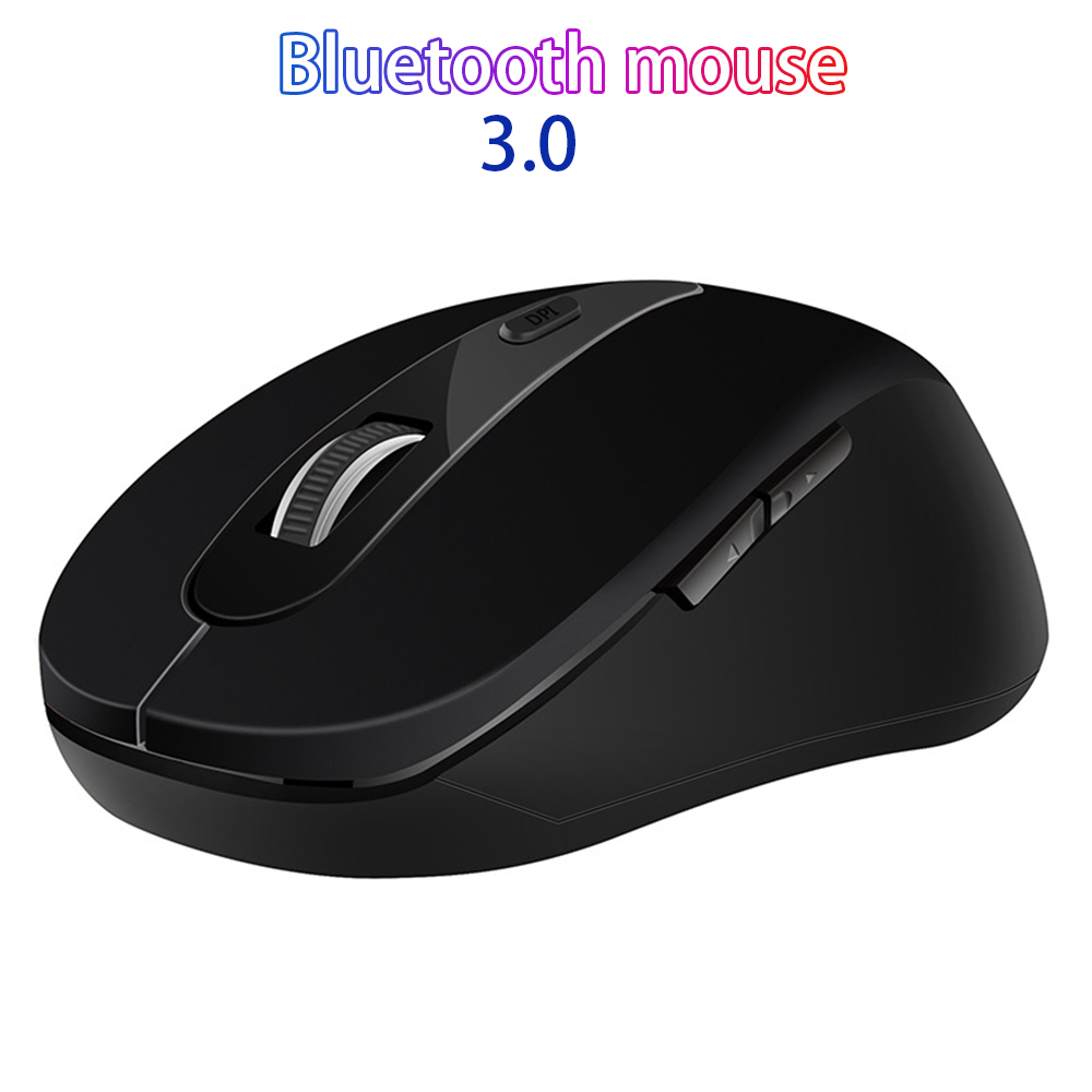 Wireless Bluetooth Mouse 2.4GHz PC Gaming Mice 1600DPI Adjustable Ergonomic Mouse For Laptop/ PC Computer
