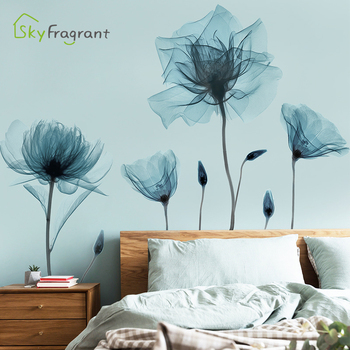 Creative warm wall sticker stickers self-adhesive bedroom living room decoration house decoration sofa background wall decor
