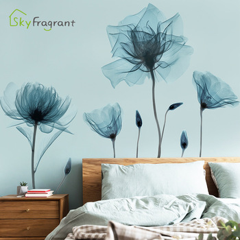 Creative Warm Floral Wall Stickers