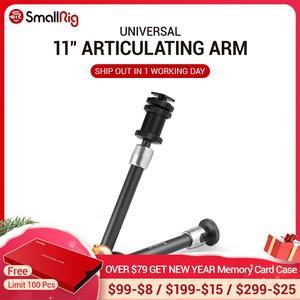 """Image 1 - SmallRig DSLR 11 """"לבטא רוזט זרוע מצלמה קסם זרוע עם קר נעל הר & סטנדרטי 1/4"""" 20 הברגה בורג מתאם 1498"""