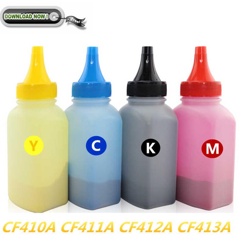 5 yıldız CF410A CF411A CF412A CF413A CF410 için uyumlu toner tozu HP M452dw M452 M452nw MFP M477 M477fdn M477fdw M377 toz