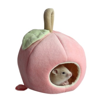 Small Pet Warm Nest Fleece Sleeping Bag For Hamster, Rabbit, Rat Cute Habitat Cave