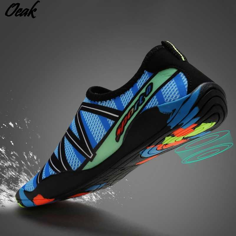 Unisex Sneakers Swimming Shoes Water Sports Aqua Seaside Beach Surfing Slippers Upstream Light Athletic Footwear Men Women