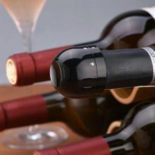 1PC Wine Bottle Stopper Wine Champagne Bottle Stopper Sealed Mini Food-Grade ABS Sparkling Black Stopper Bar Tools Home Kitchen