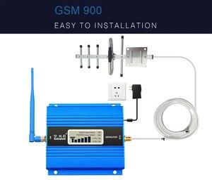 Image 3 - Lcd ディスプレイ 2 グラム gsm 900 の携帯電話のセルラー信号ブースター gsm 900 信号リピータ携帯電話のアンプアンテナセットホーム 41