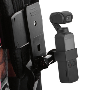 Image 4 - Backpack/Bag Clamp Clip for DJI Osmo Pocket Gimbal Fixed Adapter Mount for Osmo Pocket Action Camera Backpack Holder Accessories