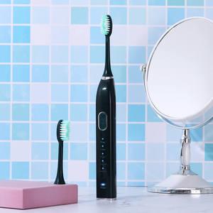 Image 3 - 5 โหมดโซนิคไฟฟ้าแปรงสีฟันสมาร์ทUSBชาร์จอิเล็กทรอนิกส์ฟันแปรง 5 แปรงฟันหัว