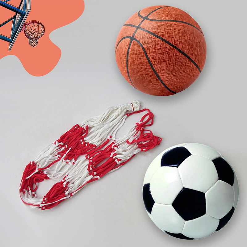 1Pcs Outdoor Soccer Net 10-15 Balls Carry Net Bag Sports Portable Equipment Basketball Balls Volleyball Ball Net Bag