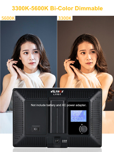 Image 5 - Viltrox L116T LED الفيديو الضوئي رقيقة جدا LCD ثنائية اللون و عكس الضوء DSLR استوديو مصباح ليد مصباح لوحة للكاميرا كاميرا فيديو DV
