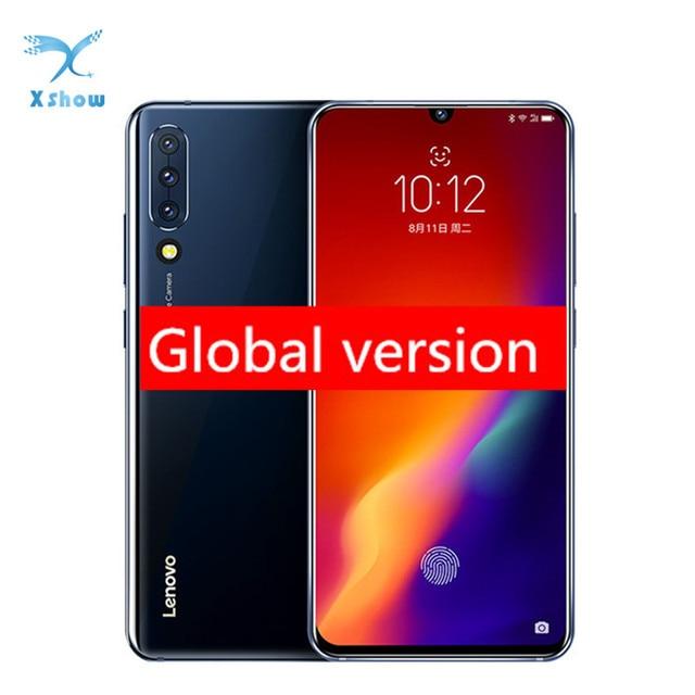Teléfono Móvil lenovo z6 Rom Global, CPU Snapdragon 730, 6GB RAM, 64GB Rom, pantalla OLED de 6,39 pulgadas, reconocimiento de huella dactilar
