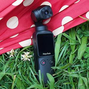 Image 2 - كاميرا جيب FeiyuTech Feiyu كاميرا جيمبال 3 محاور ثابتة باليد مع هاتف ذكي 4K 60fps فيديو VS DJI Osmo Pocket