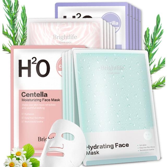 Original Korean Face Mask Moisturizing Hydrating Treatment mask Facial Sheet Mask Anti Aging Whitening Skin Care Cosmetics