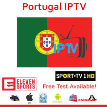 IPTV Portugal m3u Subscription Sport TV 1 ELEVEN Sports HOLLYWOOD Lives TVCINE For Smart IPTV Smarters TV Box H96 Max X96 Xtream(China)