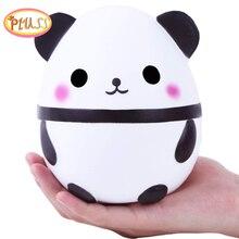 Новая Большая кавайная панда, мягкая медленно восстанавливающая форму креативная кукла в виде животных, мягкая сжимаемая игрушка, аромат х...