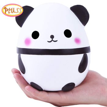 New Jumbo Kawaii Panda Squishy Slow Rising Creative Animal Doll Soft Squeeze Toy Bread Scent Stress Relief Fun for Kid Gift jumbo kawaii chocolate biscuit squishy soft squeeze toy simulation bread cake scented slow rising anti stress fun for kid gift