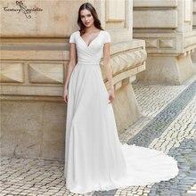 Простые Свадебные платья с рукавами свадебное платье для невесты