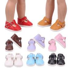 Мягкая кожаная кукла обувь Высота каблука 5 см; 8 видов стилей