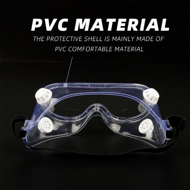 Multifunctional Splash Safety Goggles Anti-Dust Droplets Saliva Protection Anti-Fog Eye Cover Shield for Soldering Lab 2