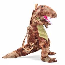 Cartoon Women Backpacks Cute Dinosaurs Pattern Backpacks Fashion Kids Backpacks Small Backpack cheap FZMBAI Polyester Jacquard Unisex Softback Below 20 Litre Soft Handle NONE zipper Arcuate Shoulder Strap Casual Animal Prints