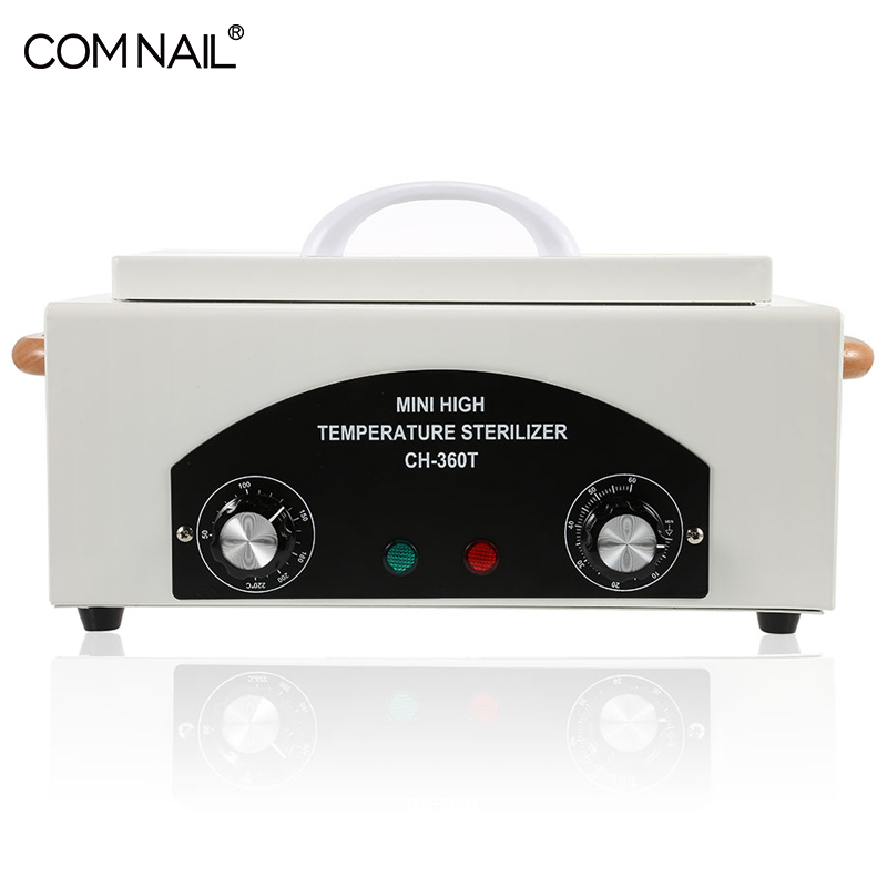 Image 3 - 300W Portable Dry Heat High Temperature Sterilizer Medical Autoclave Manicure Tool Sterilizer For Nails Pedicure Salon-in Nail Art Equipment from Beauty & Health