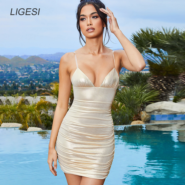 2173_main_island-girl-light-gold-clear-strap-metallic-ruched-mini-dress