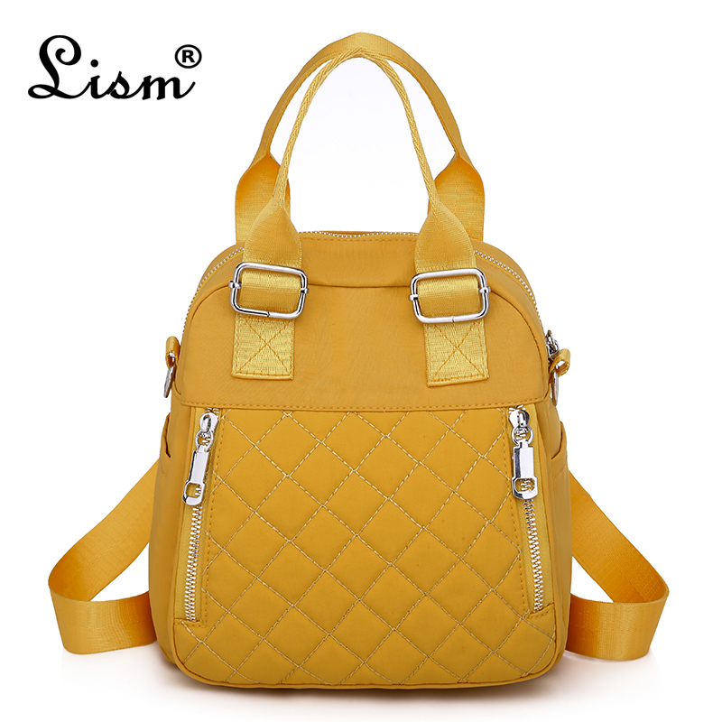 Luxury Female Backpack 2020 New Oxford Cloth Travel Bag Youth Girl Student Schoolbag Brand Designer Design Bag